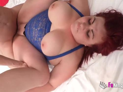 Redhead bbw has spanned spain to create her fantasy come true and be pounded by kendo